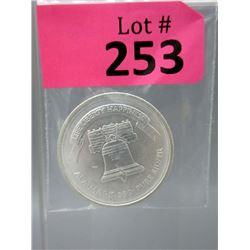 1 Oz Liberty Silver .999 Art Round