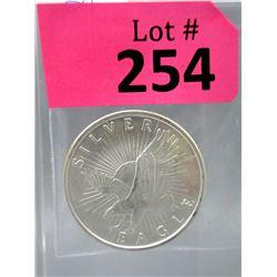 1 Oz Vintage Sunshine Minting .999 Silver Round