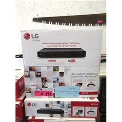 2 New LG BP 350 Blu-ray Disc/DVD Players