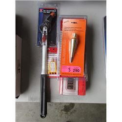 5 Piece Lot of Assorted New Tools