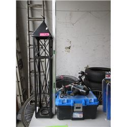 4 Foot Level, Electric Drill, Tool Box & More