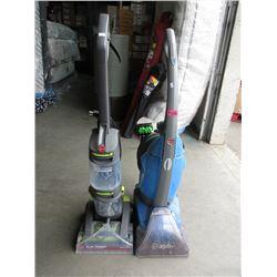 Upright Carpet Shampooer & Vacuum