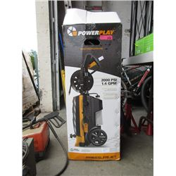 Power Play 2000 psi Pressure Washer