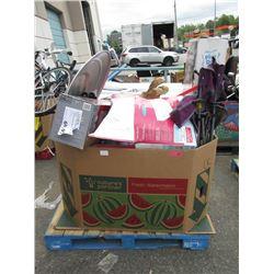 Skid of Store Return Merchandise