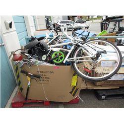 Skid of Bike Parts & More