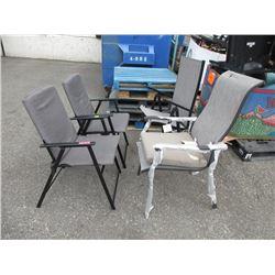 4 Folding Chairs - Store Return