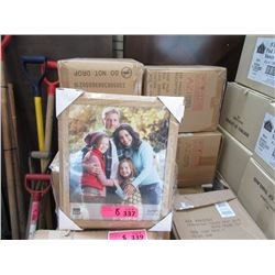 """8 Cases of 12 New 8"""" x 10"""" Oak Picture Frames"""