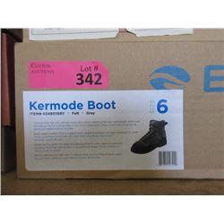 New Kermode Grey Boot - Men's Size 6