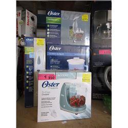 4 Oster Small Kitchen Appliances - Store Returns