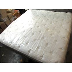 New King Size Pillow Top Mattress - Floor Model