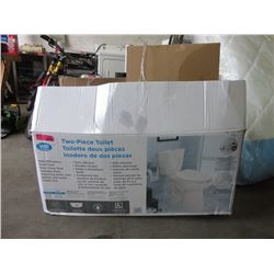 Two-Piece Dual Flush Toilet - Store Return