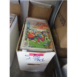 90+ Assorted Bagged Comic Books