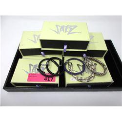11 New Sabz Stingray or Snake Leather Bracelets