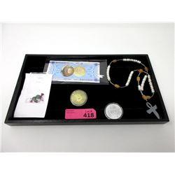 Gemstone Necklace, Bit Coin Novelties & Gemstones