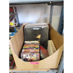 20 LP Records, Movie DVDs & More