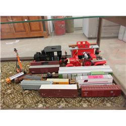Assortment of HO Scale & Other Railway Cars & More