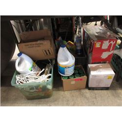 5 Box Lot of Assorted Tools & Household Goods