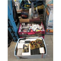 3 Boxes of Assorted Sports Trading Cards