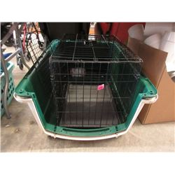 Pet Kennel & Wire Pet Crate