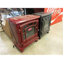 2 Dura Flame Electric Heater - Store Returns