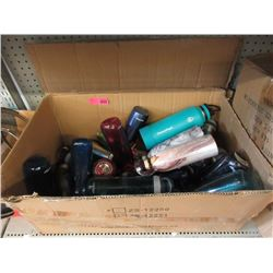 Large Box of Assorted Beverage Containers