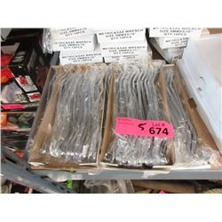 5 New Boxes of 10 Metric SAE Wrenches