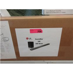 New LG SJ8 300 W RMS 4.1 Channel Soundbar
