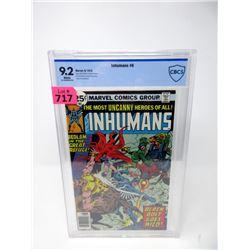 "Graded 1976 ""Inhumans #6"" 25¢ Marvel Comic"