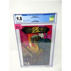 """Graded 2011  """"Key of Z #1"""" Evil Link Comic"""