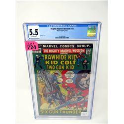 "Graded 1972 ""Mighty Marvel Western #18"" Marvel Comic"