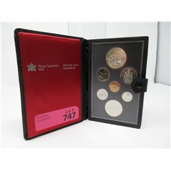 1980 Canadian Double Dollar Coin Set