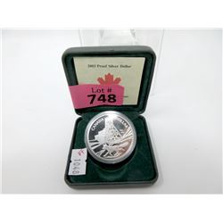 2003 Canadian .9999 Fine Silver Dollar Coin