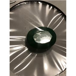 Rare HUGE 7.80 Carat EMERALD Oval Cut Tested Natural