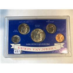 Americana Series Silver US Presidents Coin Collection 1964 Kennedy