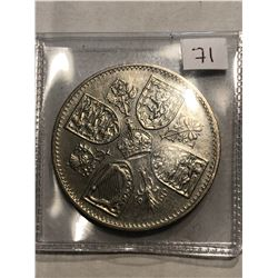 1960 Great Britain 5 Shillings Coin in MS High Grade