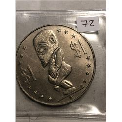 1973 Cook Islands 1 Dollar Fertility Large Coin in MS High Grade