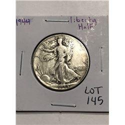 1944 Walking Silver Liberty Half Dollar Nice Early US Coin