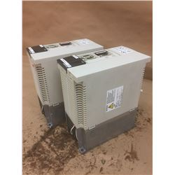 (2) Mitsubishi MR-J2-350CT Servo Drive Units