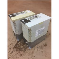 (2) Mitsubishi MR-J2-200CT Servo Drive Units