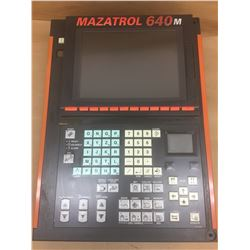 Mazatrol 640 Control Panel w/FCA635MNY-ND Numerical Control Unit and FCU6-HD242-3 HDD Unit