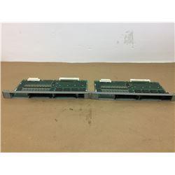(2) Mitsubishi QX535 PCB Boards