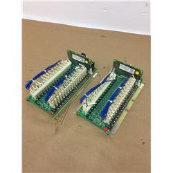 (2) Mazak D65UB004 Control Board w/ HR371 Daughter Board
