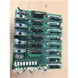 Mazak D65UB004680 Circuit Board w/ HR371 Daughter Boards