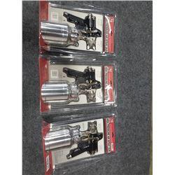 THREE AIR SPRAY GUNS