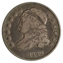 1830 Capped Bust Dime Coin