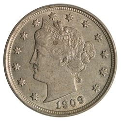 1909 Liberty Nickel Coin