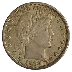 1908 Barber Half Dollar Coin