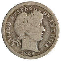 1896-O Barber Dime Coin
