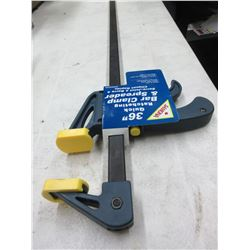 New 36 inch Samona Quick Ratcheting Bar Clamp & Spreader