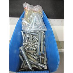 "Large Assortment of Lag Screws from 1-1/2"" to 7"""